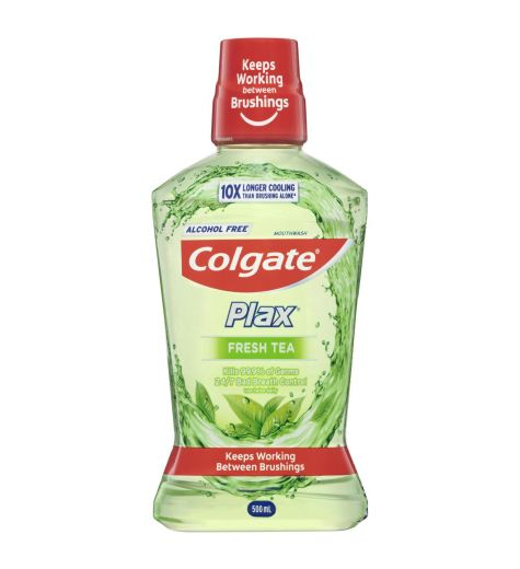 Colgate Plax Fresh Tea Mouthwash 500ml