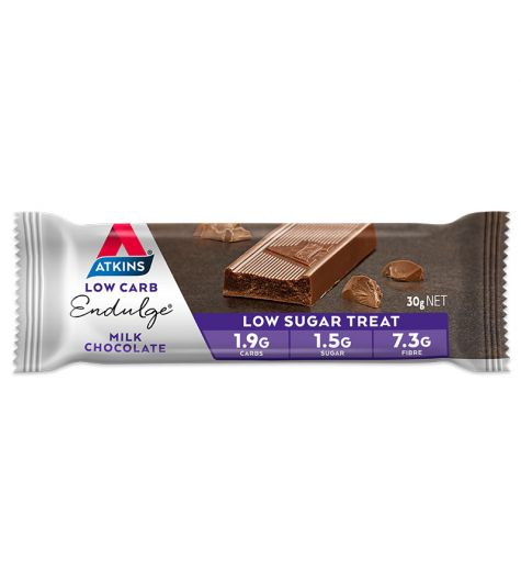 Atkins Endulge Milk Choclate Bar 30g