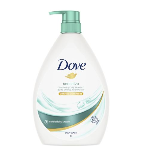Dove Sensitive Skin Nourishing Body Wash 1 Litre