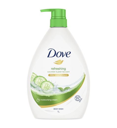 Dove Go Fresh Nourishing Body Wash Fresh Touch Cucumber & Green Tea 1L