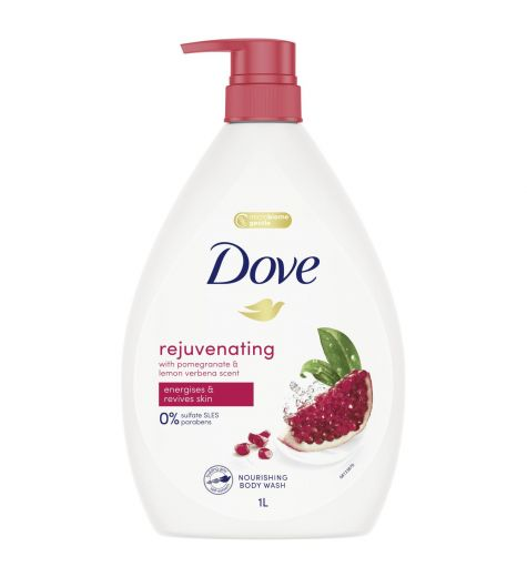 Dove Go Fresh Nourishing Body Wash Revive Pomegranate & Lemon 1 Litre
