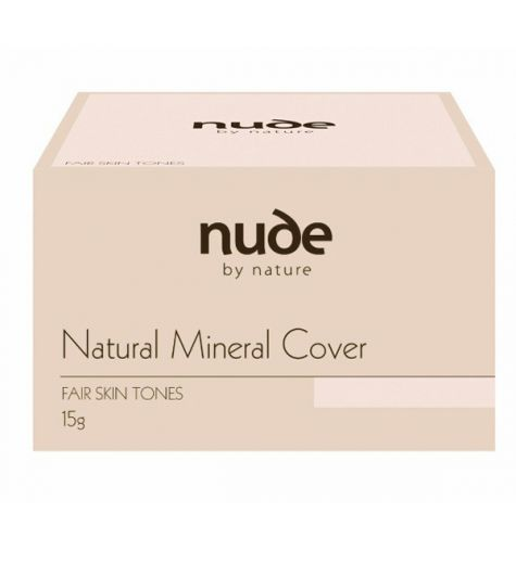Nude By Nature Mineral Cover Fair Skin Tones