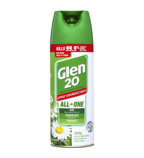 Glen 20 Country Scent Spray Disinfectant 300g