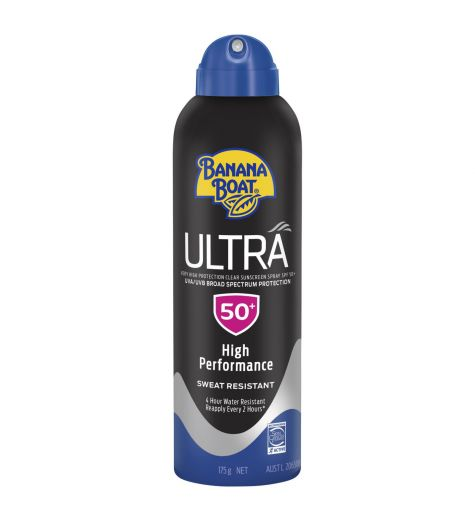 Banana Boat Ultra Very High Protect Clear Sunscreen Spray SPF50+ 175g