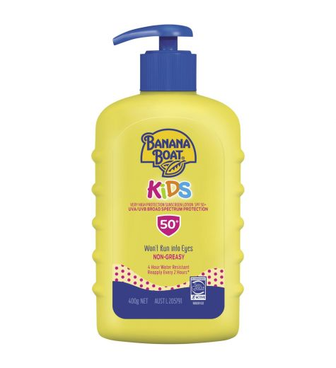Banana Boat Kids SPF 50+ Sunscreen 400g