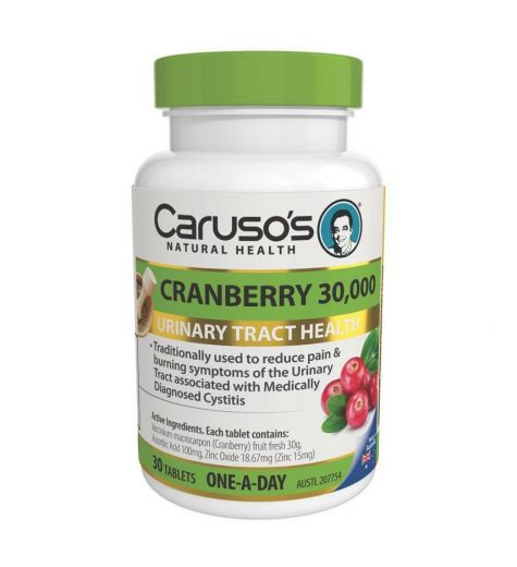 Caruso's Natural Health Cranberry 30,000 Tablets 30