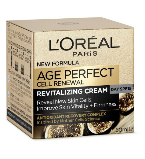 L'Oreal Age Perfect Cell Renewal Restoring Day Cream SPF15 50ml
