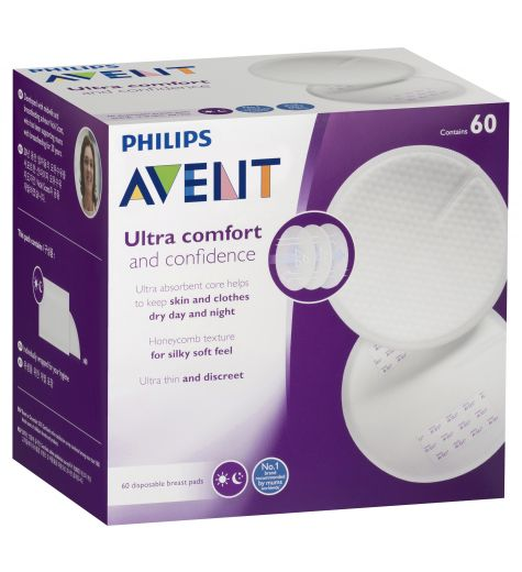 Avent Ultra Comfort Disposable Breast Pads 60
