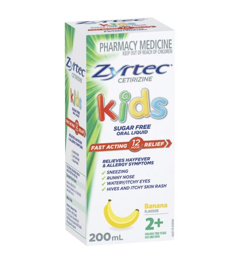 Zyrtec Kids Liquid 200ml