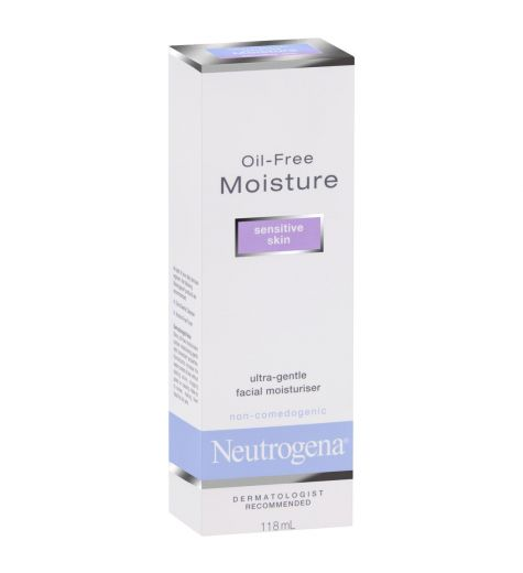 Neutrogena Moisturising Lotion Sensitive Skin 118ml