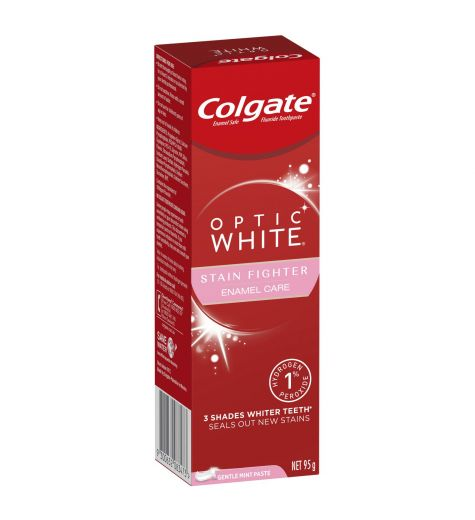 Colgate Optic White Enamel White Sparkling Mint Toothpaste 95g