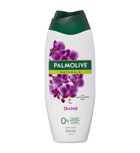 Palmolive Naturals Irresistible Softness Milk & Black Orchid Shower Milk 500ml