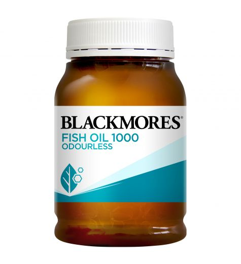 Blackmores Odourless Fish Oil 1000mg Capsules 200