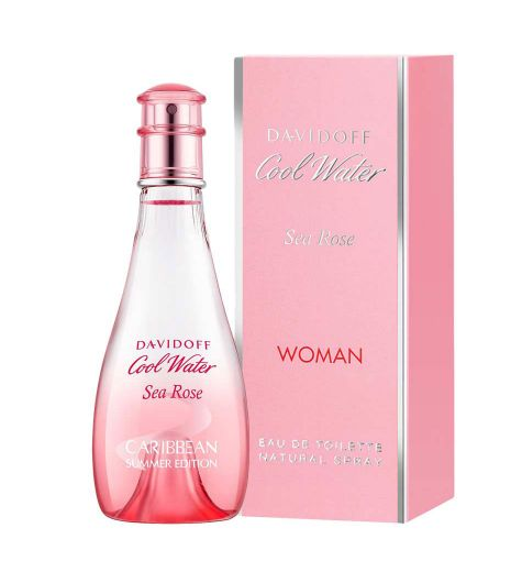 Cool Water Sea Rose 100ml EDT By Davidoff (Womens)