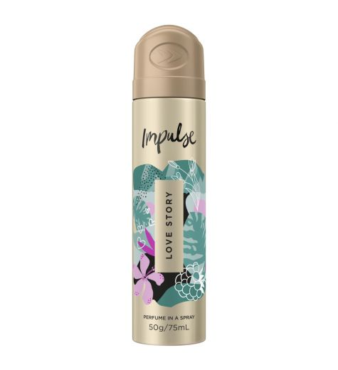 Impulse Perfume In a Spray Love Story 75ml