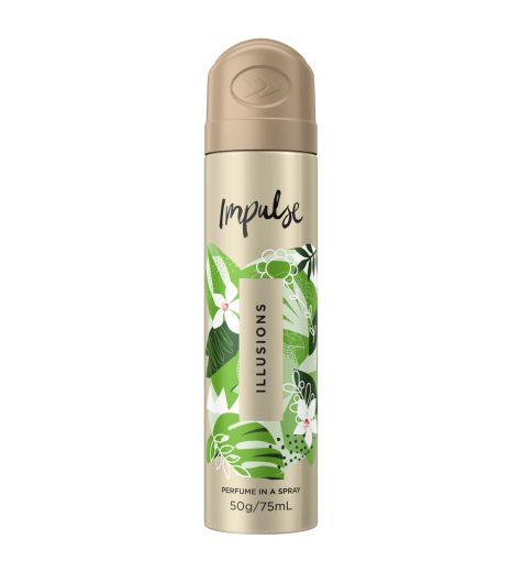 Impulse Perfume In a Spray Illusions 75ml
