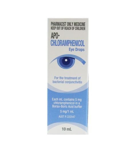 Apo-Chloramphenicol Eye Drops 10ml