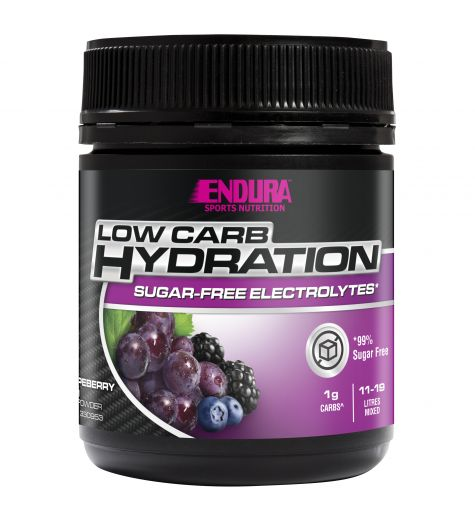 Endura Rehydration Low Carb Fuel Grapeberry Flavour 128g
