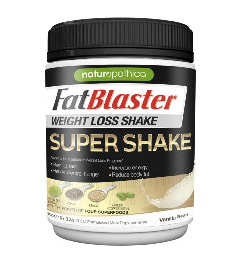 Fat Blaster Weight Loss Super Shake 430g Vanilla Bean