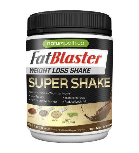 Fat Blaster Weight Loss Super Shake Rich Milk Chocolate 430g