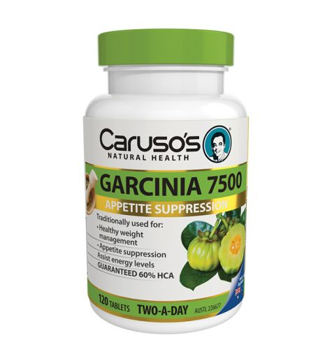 Caruso's Natural Health Garcinia 7500 Tablets 120