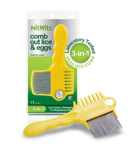 NitWits Comb Out Lice & Eggs