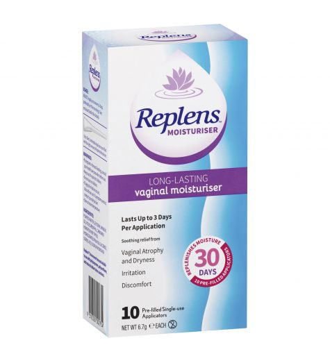 Replens Vaginal Moisturiser x 10 Applicators