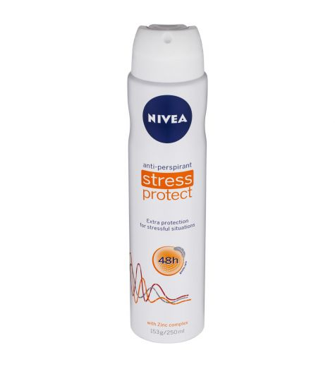 Nivea Anti-Perspirant Stress Protect Deodorant 48h 250ml