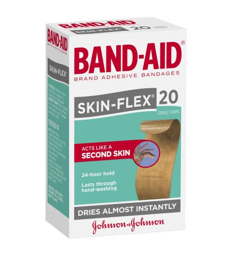 Band-Aid Skin Flex 20 Sterile Strips