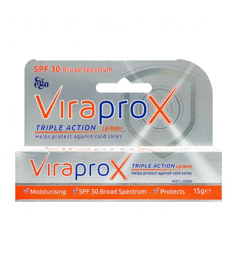 Ego ViraproX Triple Action Lip Balm 15g