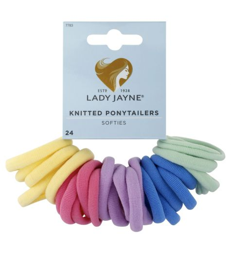 Lady Jayne Knitted Ponytailers Pack 24