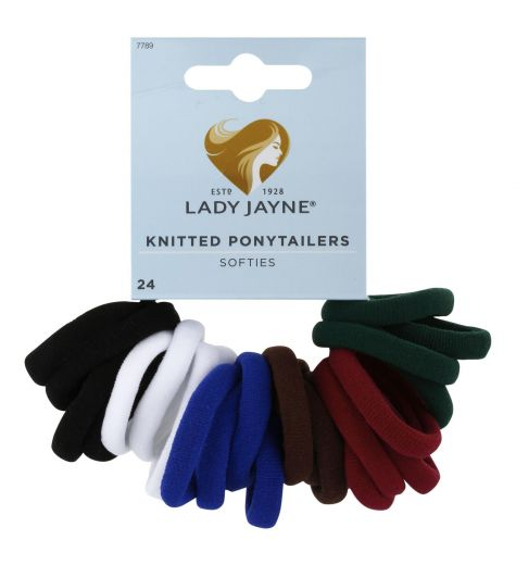 Lady Jayne Knitted Ponytailers Softies 24 Pack