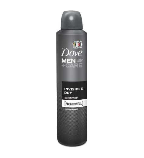 Dove Men Invisible Dry Anti-Perspirant Deodorant 250ml/150g
