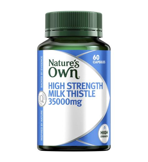 Nature's Own High Strength Milk Thistle 60 Capsules
