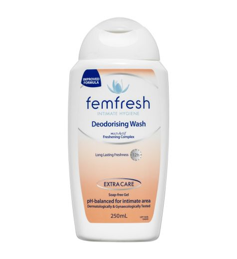 Femfresh Deodorising Wash Soap Free Gel 250ml
