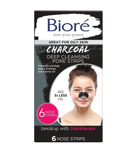 Biore 6 Deep Cleansing Charcoal Pore Strips