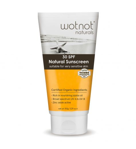 Wotnot Natural Sunscreen 30 SPF 150g