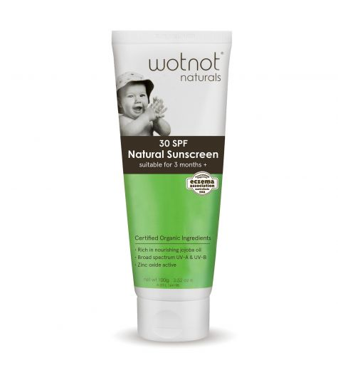 Wotnot Natural Baby Sunscreen 30 SPF 100g