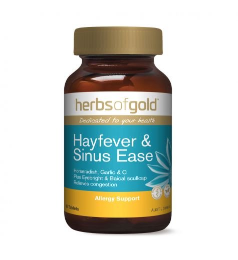 Herbs Of Gold Hayfever & Sinus Ease 60 Tablets