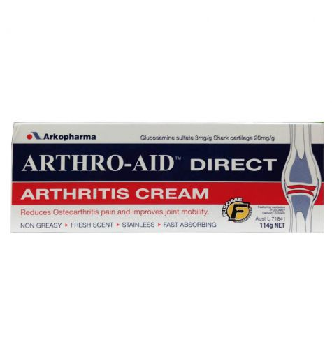 Arthro-Aid Direct Cream 114g