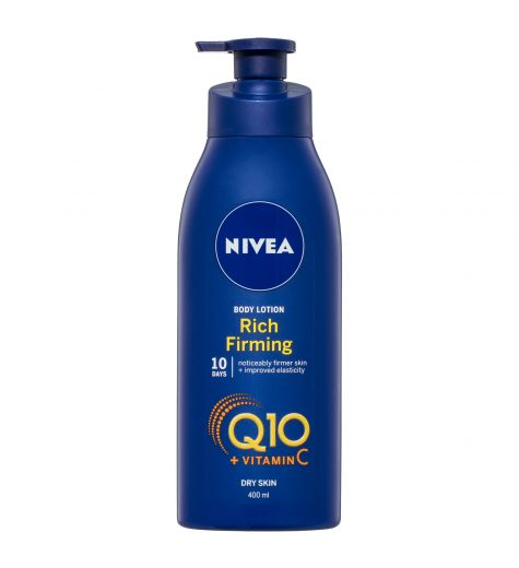 Nivea Rich Firming Q10 + Vitamin C Body Lotion 400ml
