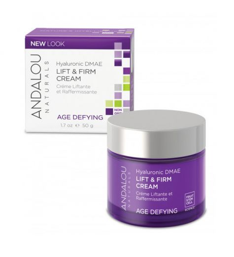 Andalou Naturals Hyaluronic DMAE Lift & Firm Cream 50g