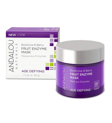 Andalou Naturals BioActive 8 Berry Fruit Enzyme Mask 50g