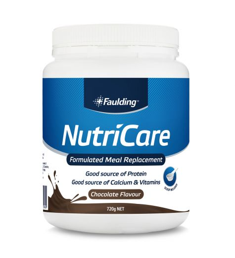 Faulding NutriCare Chocolate Meal Replacement 720g
