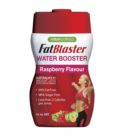 Fat Blaster Water Booster Raspberry Flavour 48ml