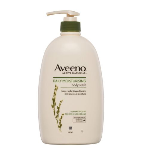 Aveeno Active Naturals Daily Moisturising Body Wash 1Litre