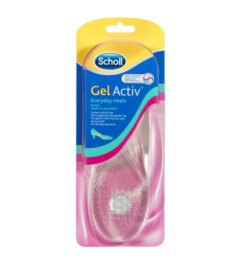 Scholl Gel Activ Insoles Everyday Heels