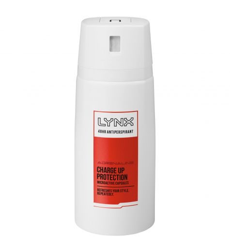 Lynx Adrenaline Charge Up Protection 48H Antiperspirant 96g / 160ml