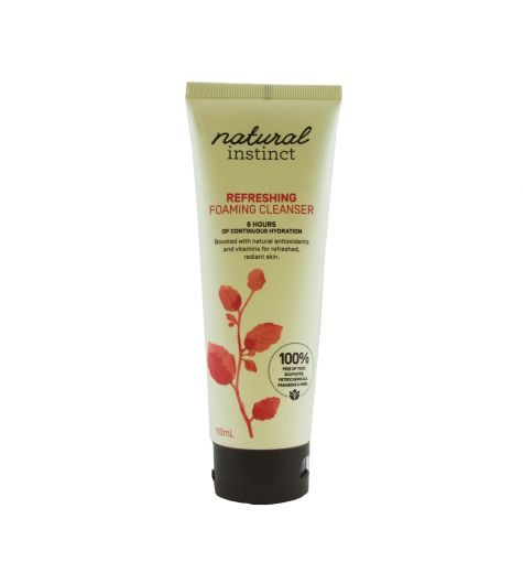 Natural Instinct Refrehsing Foaming Cleanser 110ml