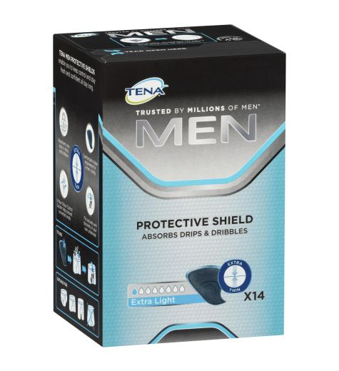 Tena Men Protective Shield Extra Light 14 Pack